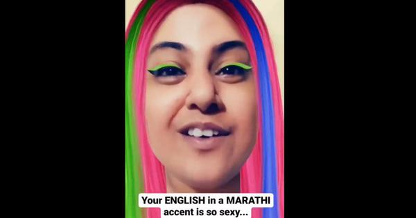 'Your English in Marathi accent is so sexy': The popular video trend continues with a new version