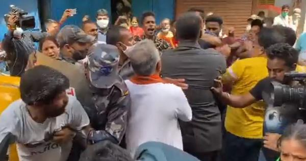 Clashes erupt during BJP campaign for Bhabanipur polls, Dilip Ghosh's security officer pulls out gun