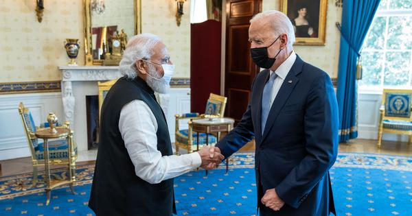 After meeting Biden and Harris in the US, Modi discovers that the Sword of Democracy is double-edged