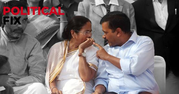 The Political Fix: AAP and Mamata Banerjee are looking to take slices out of the Congress pie