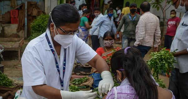 Covid: India is recording 20,000 cases daily, some districts still in red zone, says Centre