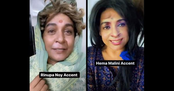 'Your accent is so sexy' challenge: Actors Hema Malini, Nirupa Roy, Asha Parekh mimicked by comedian