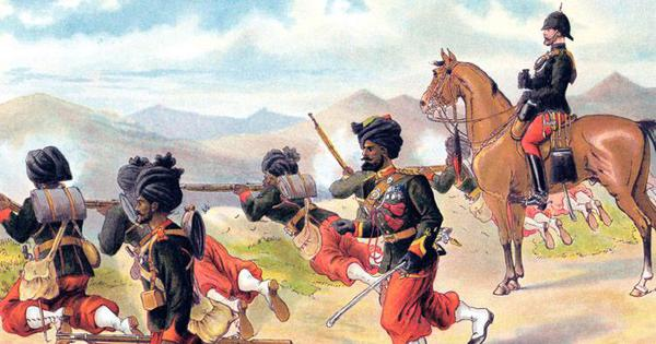 An examination guide from 1868 shows what it took to join the Bombay Native Infantry