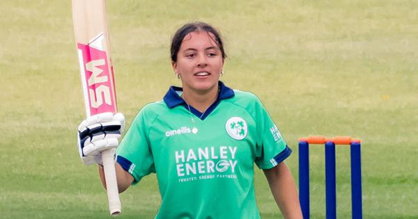 Ireland's Amy Hunter breaks Mithali Raj's record, becomes youngest woman to score an ODI century