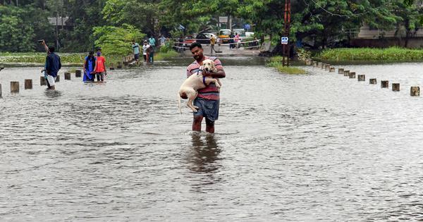 Kerala rain: At least five people dead in floods, landslides