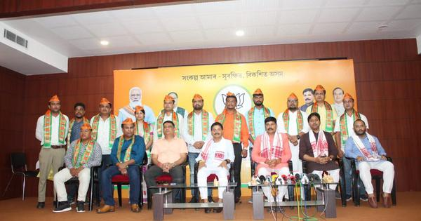 Assam: Congress, Bodoland People's Front leaders join BJP ahead of bye-polls