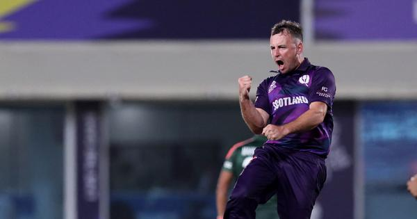 From delivering Amazon parcels to starring at T20 World Cup: The journey of Scotland's Chris Greaves