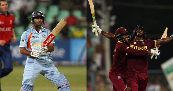 Pause, rewind, play: From Yuvraj's 6x6 to Brathwaite's 4x6, memorable Men's T20 World Cup moments