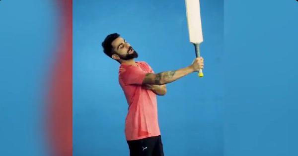 Watch: Virat Kohli hilariously imitates teammate Shikhar Dhawan's batting style