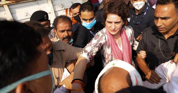 Priyanka Gandhi allowed to visit Agra to meet family of man who died allegedly in UP Police custody
