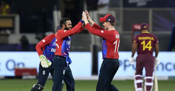 T20 World Cup: Adil Rashid shines as England blow away defending champions West Indies