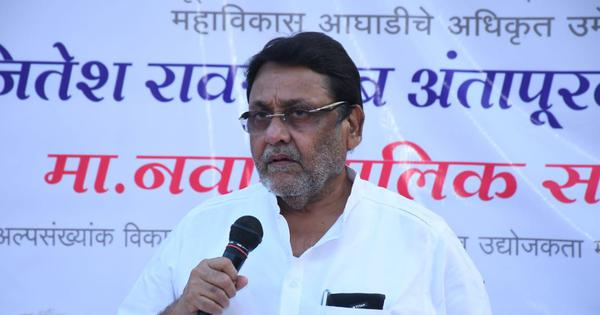 NCB's Sameer Wankhede has been tapping phones illegally, alleges Nawab Malik