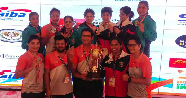 Indian boxing: RSPB bag team title at women's nationals with 12 medals