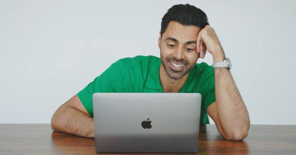 'Oh no, he's doing the thing!': Hasan Minhaj reacts to being mimicked in social media videos