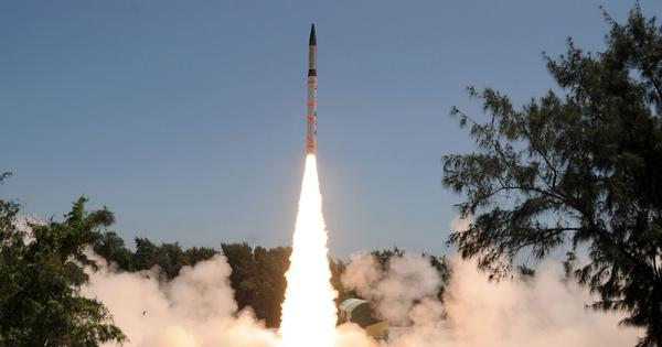 Nuclear-capable Agni-IV missile test-fired from Abdul Kalam Island