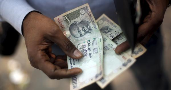 Rupee breaches 73 mark against dollar before recovering marginally, Sensex and Nifty lose nearly 1%