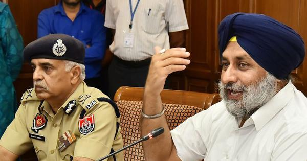 SAD chief Sukhbir Singh Badal detained during protest outside Punjab CM's home