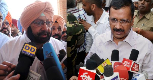 'I am serving farmers,' Arvind Kejriwal tells Amarinder Singh as they trade barbs amid protests