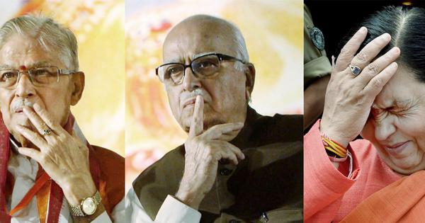 Babri Masjid demolition verdict out on September 30; Advani, other accused asked to appear in court