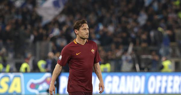Emotional Totti resigns as Roma director after being left out of important decisions