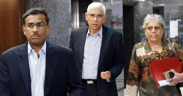 Supreme Court directs BCCI to pay CoA members Diana Edulji, Vinod Rai Rs 3.5 crore each