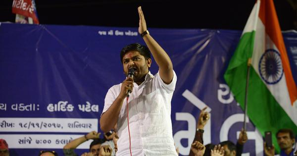 Hardik Patel arrested in 2017 case immediately after leaving Ahmedabad jail