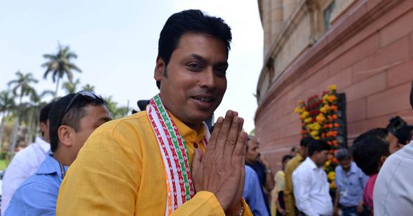 Facebook user who spread fake news of Tripura CM's divorce sent to three-day police custody
