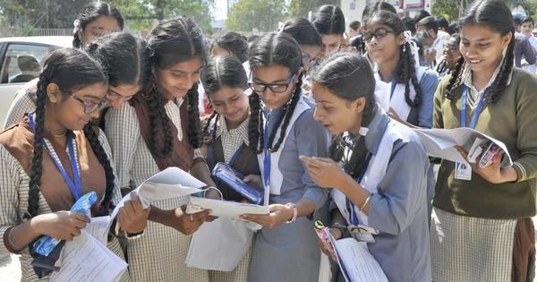 CBSE Class 12 results announced, two UP girls top exams, pass percentage recorded 83.4