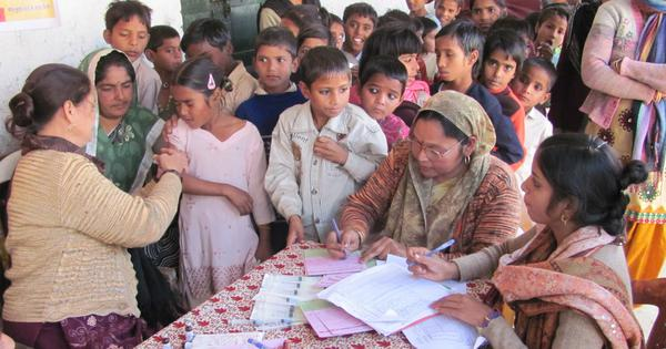 In India, 47% of poorest children and 30% of richest children are not immunised