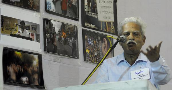'Life-threatening for someone who is 81': Civil society calls for hospitalisation of Varavara Rao