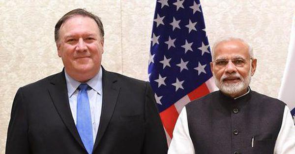 The big news: Mike Pompeo to begin his three-day visit to Delhi today, and nine other top stories