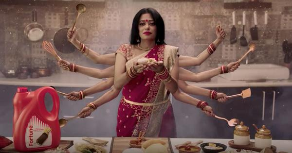 A vegetarian Durga Puja? Fortune Foods' apology for ad showing Bengalis eating fish sparks anger