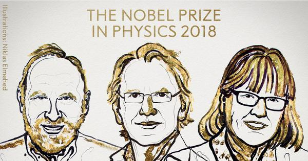 Nobel Prize in Physics awarded for 'groundbreaking inventions in laser physics'