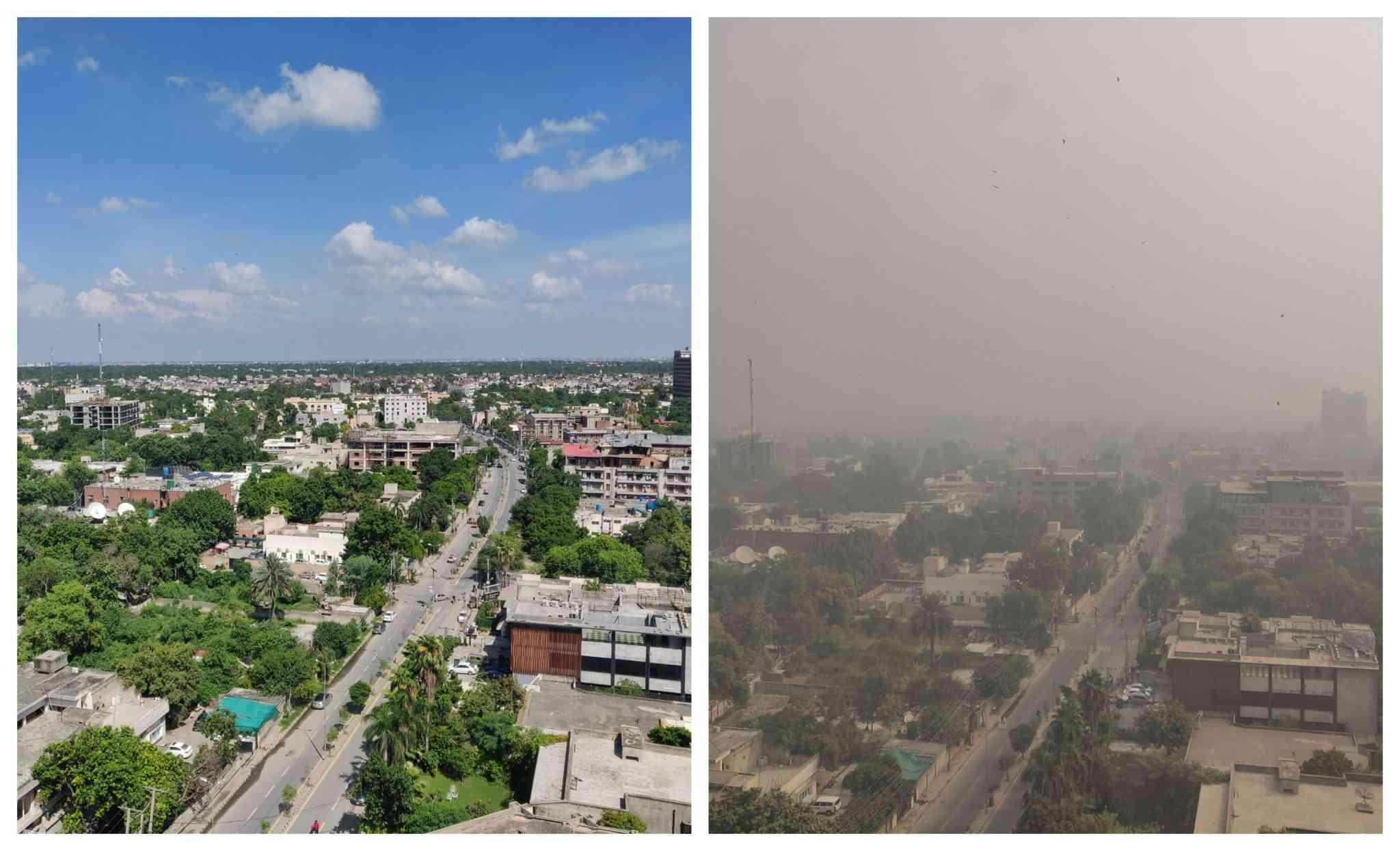 As smog engulfs Lahore, authorities in Pakistan blame India