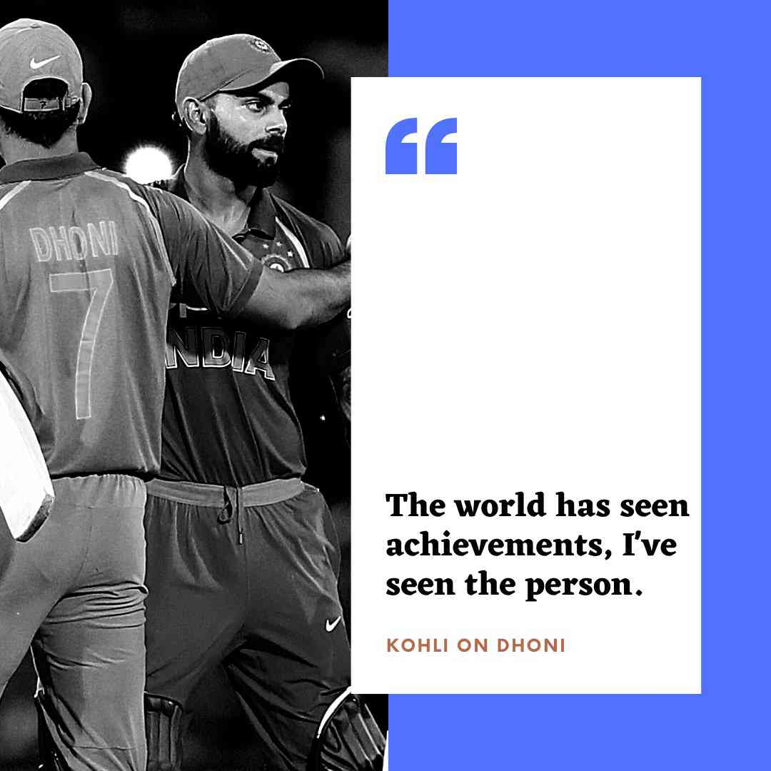 MS Dhoni Retires: Virat Kohli Shares Special Moments With 'Skip' Dhoni