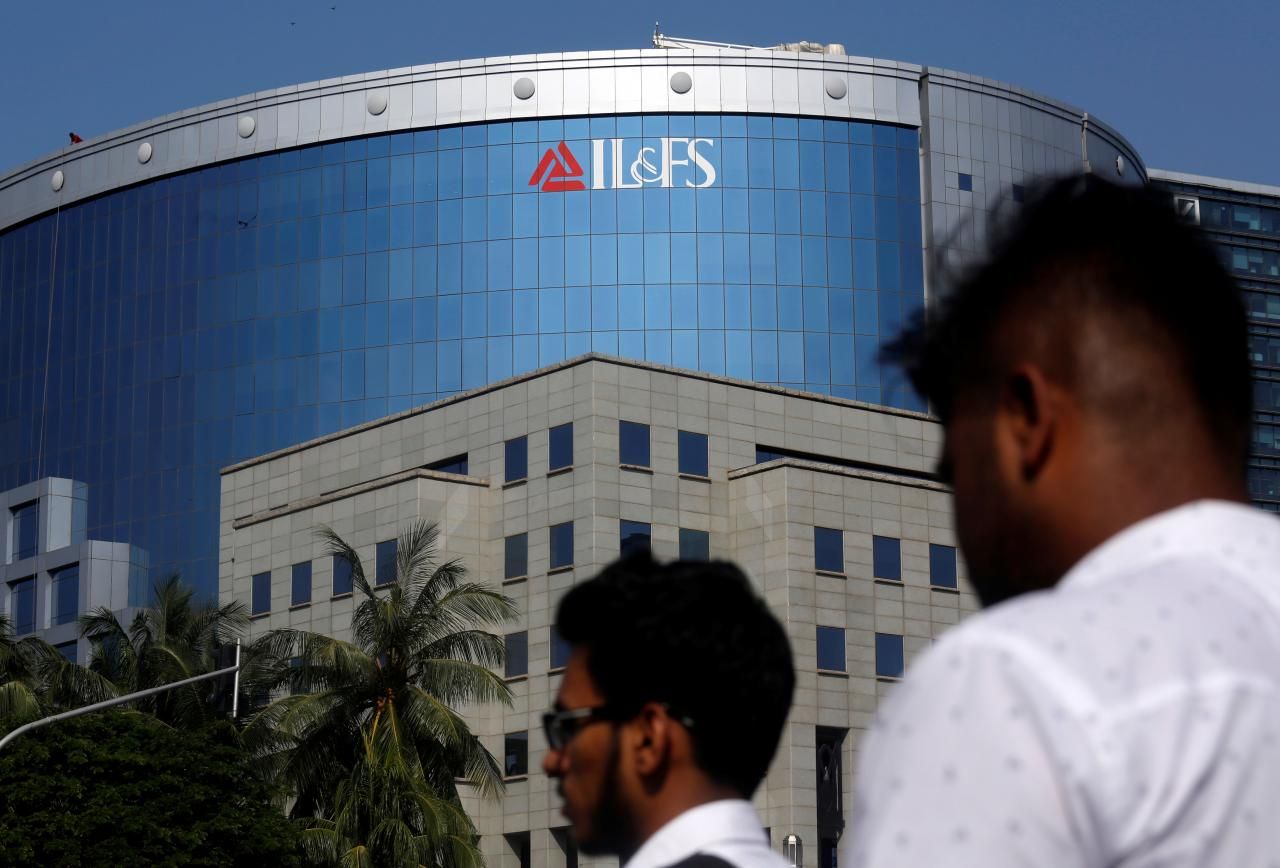 The collapse of IL&FS has sparked a bond market crisis, with fears of a default pushing up yields. Photo credit: Reuters