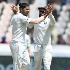 You neither get pace nor bounce with SG Test balls on flat Indian tracks, says Umesh Yadav