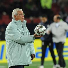 We cannot ignore India's effort and strength in recent years, says China coach Marcelo Lippi