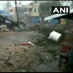 Watch: Cyclone Titli leaves a trail of destruction across Odisha and Andhra Pradesh