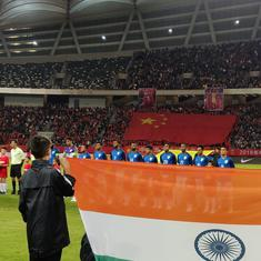 Football: Gurpreet stars as India hold China to goal-less draw with gritty defensive show in Suzhou