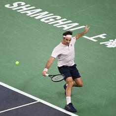 Error-prone Roger Federer stunned by 13th seed Borna Coric at Shanghai Masters