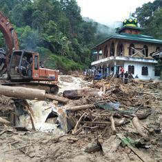 Indonesia: At least 27 people killed in rain, landslides in Sumatra