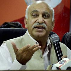 MJ Akbar records statement, claims Priya Ramani defamed him by calling him a 'talented predator'