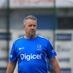 Windies coach Stuart Law suspended for two ODIs after inappropriate comments against third umpire