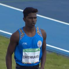 Youth Olympic Games: India's Praveen Chitravel wins bronze medal in triple jump