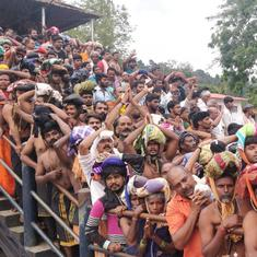 Sabarimala: Kerala HC says pilgrims cannot be stopped from moving in groups or singing songs