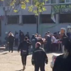 Russia: At least 10 people dead, over 50 injured in an explosion at a Crimean college