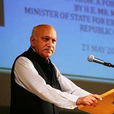 Your Morning Fix: MJ Akbar, accused of sexual harassment by 16 women, resigns from Modi government