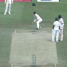 Watch: Azhar Ali gets dismissed while chatting with partner in the most bizarre run out