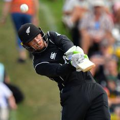 Two in two: Martin Guptill slams another ton as New Zealand secure ODI series win over Bangladesh